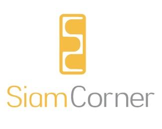 orange,restaurant,thai,asian,siam logo