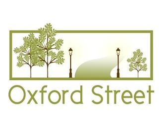 light,tree,road logo