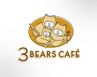 cafe,bears logo