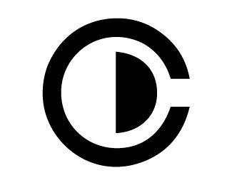 design,smile,c,d,initial logo