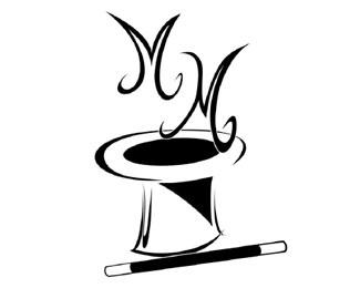 event,magician,classy,entertainer,juggler logo