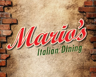brick,mario,restaurant,italian,new york logo