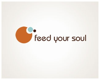food,circles,fun logo