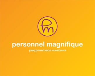 company,recruitment,magnifique,personnel logo