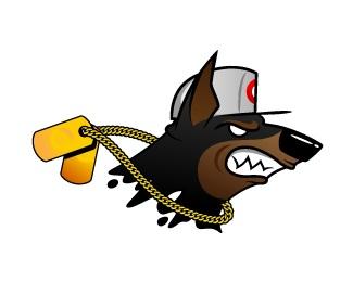 animal,character,creature,agressive logo