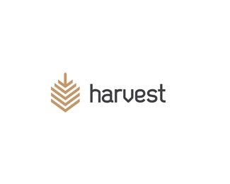 communication,design,modern,harvest,kappy logo