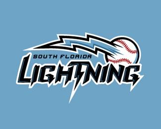 blue,lightning,baseball,sports logo