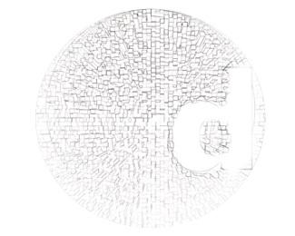 circle,easy,egypt,b&,w,fadi logo
