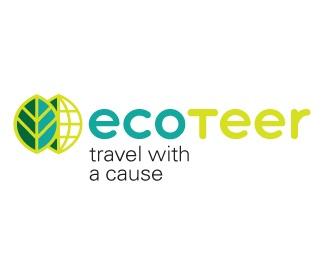 green,travel,eco,friendly logo