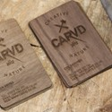 Walnut Veener Cards