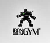 Iron Golem Gym Logo Proposal