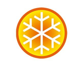 orange,frozen logo