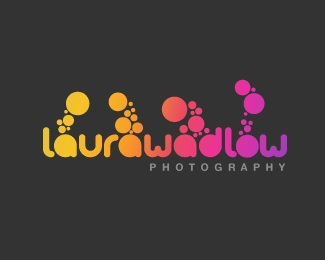 color,gradient,photographer logo