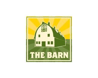 sun,farm,barn,roof logo