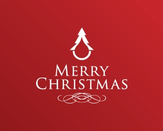red,tree,drop,christmas,x-mas logo