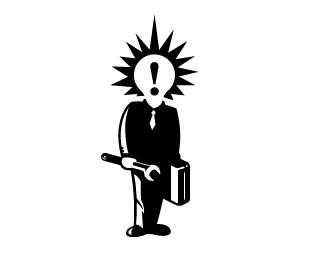 human,idea,portfolio,wrench,figure logo