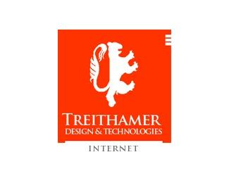 design,internet,technology,treithamer logo
