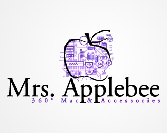 Mrs. Applebee logo