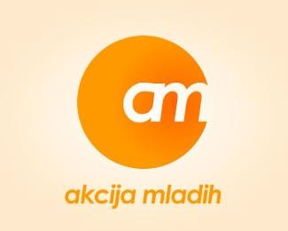 orange,party,political,akcija,mladih logo