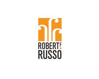 box,orange,square,marketing,russo logo