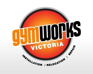 bold,fitness,gym,bright,impact logo