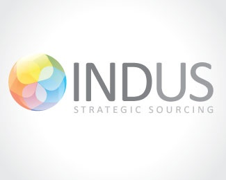 flower,jewel,organic,outsourcing,indus logo