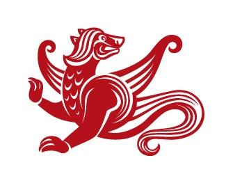 animal,clean,mythology,semargl logo