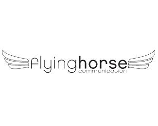 Flying Horse Communication logo