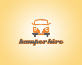 Kamper Hire logo