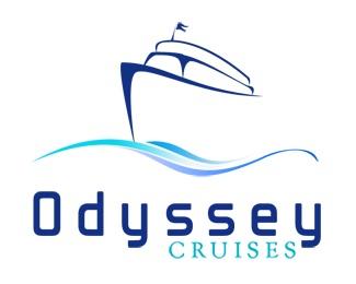 blue,ocean,sea,cruise,boat logo