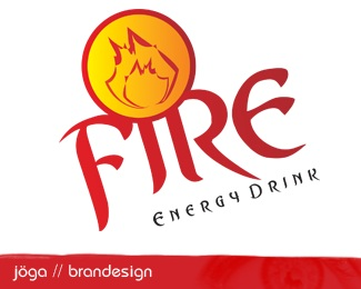 Fire Energy Drink logo