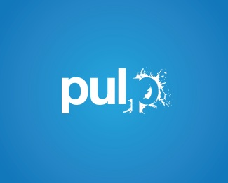 blue,paint,juice,splat,pulp logo