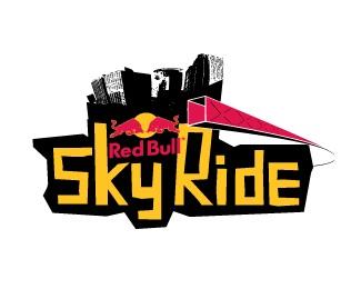 Red Bull Skyride logo