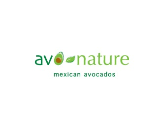 food,fruit,mexico,natural logo