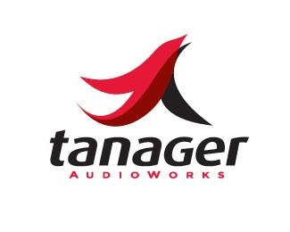 bird,red,technology,tanager logo