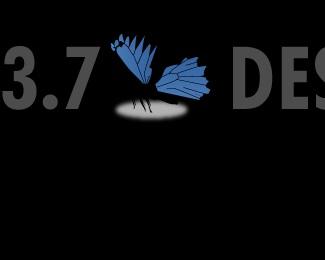 blue,clean,gray,white,futura logo