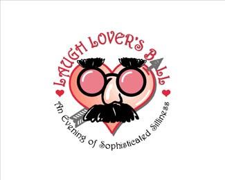 glasses,heart,hearts,mask,comedy logo