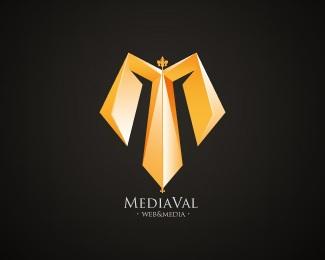 media,web logo
