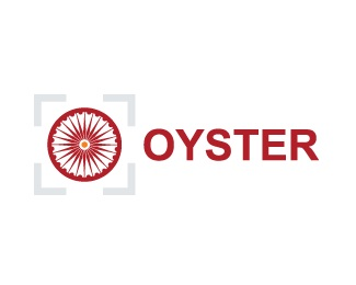 grey,orange,india,burgundy,oyster logo
