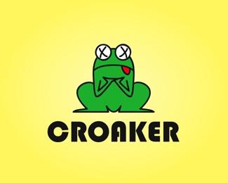 frog,toad,dead,croak logo