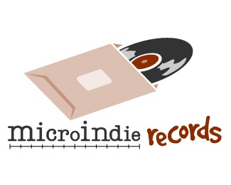 music,record,label logo
