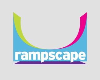 bold,color,skateboard,ramp logo