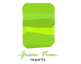 green,view,hotel,resorts logo