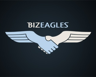 bird,blue,corporate,double meaning,metaphor logo
