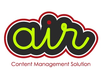 air,green,red,web logo