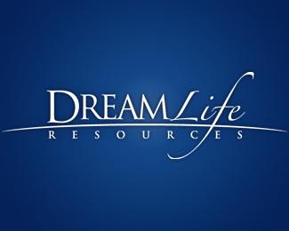 blue,cool,dream,white,resources logo