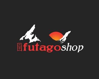 shop,japan,mountain,japanese,futago logo