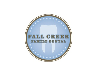 family,fall,creek,teeth,tooth logo