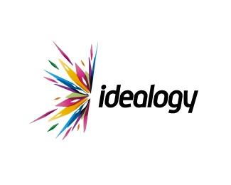 idea,colorful,blow logo