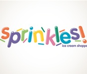 Sprinkles Ice Cream Shoppe Logo